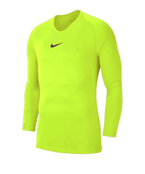 Nike Park First Layer sottomaglia giallo F702