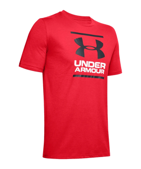 Under Armour GL Foundation T-Shirt rosso F601