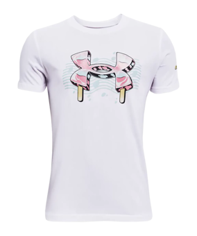 Under Armour Popsicle T-Shirt Kids bianco F100