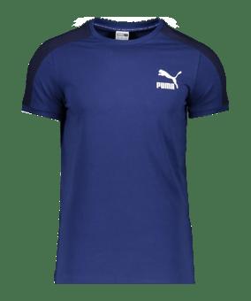 PUMA Iconic T7 T-Shirt blu F12