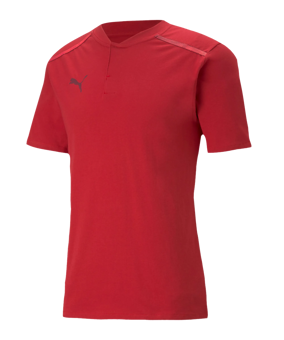PUMA teamCUP Casuals Poloshirt rosso F01