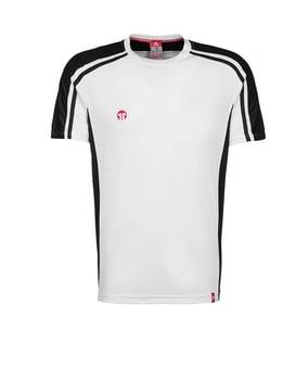 11teamsports Clásico maglia bianco nero F10