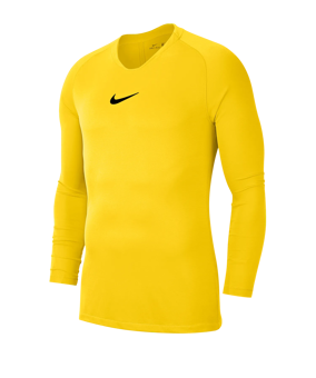Nike Park First Layer sottomaglia giallo F719