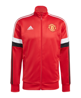 adidas Manchester United 3S Tracktop giacca rosso