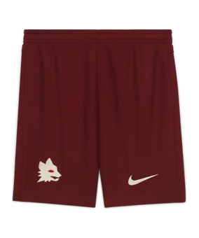 Nike AS Roma Short Away 2020/2021 Kids rosso F619