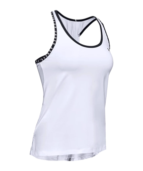 Under Armour Knockout Tanktop donna bianco F100