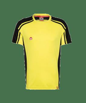 11teamsports Clásico maglia giallo nero F70