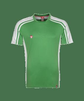 11teamsports Clásico maglia verde bianco F30