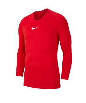 Nike Park First Layer sottomaglia rosso F657