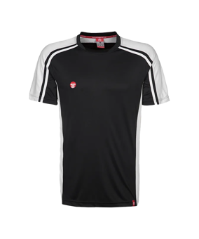 11teamsports Clásico maglia nera bianca F00