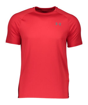 Under Armour Tech Tee T-Shirt rosso F600