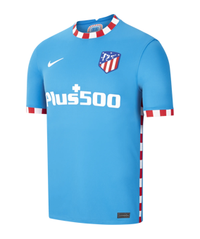 Nike Atletico Madrid maglietta 3rd 21/22 blu F407