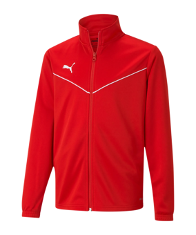 PUMA teamRISE Poly giacca all. rosso F01