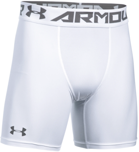 Under Armour HG 2.0 Comp short Tight bianco F100