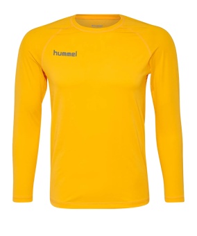 Hummel First Performance maglia giallo F5001