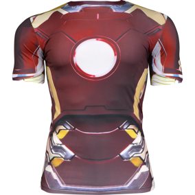 Under Armour Iron Man Competition Shortsleeve