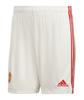 adidas Manchester United pantaloncini home 21/22 rosso