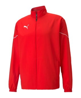 PUMA teamRISE Sideline giacca all. rosso F01