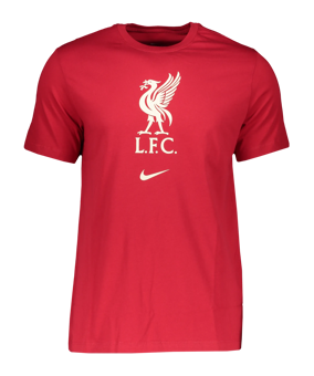Nike FC Liverpool Evergreen Crest t-shirt rosso F687