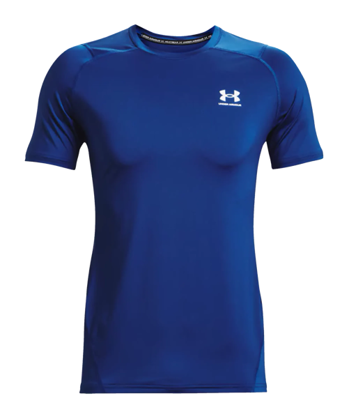 Under Armour HG Fitted t-shirt blu F432