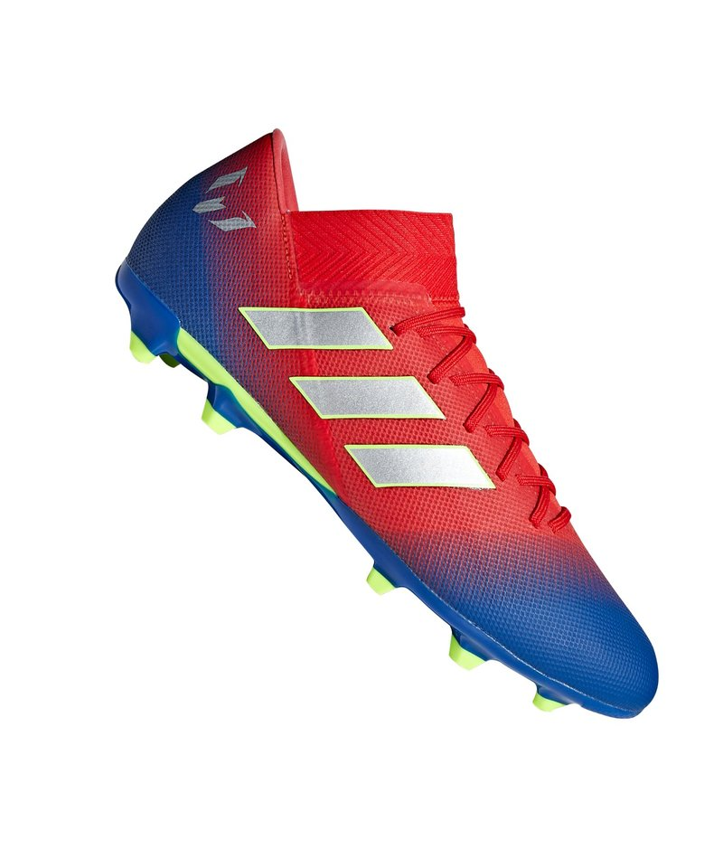 Fußballschuhe adidas NEMEZIZ Messi 18.3 FG Rot Blau