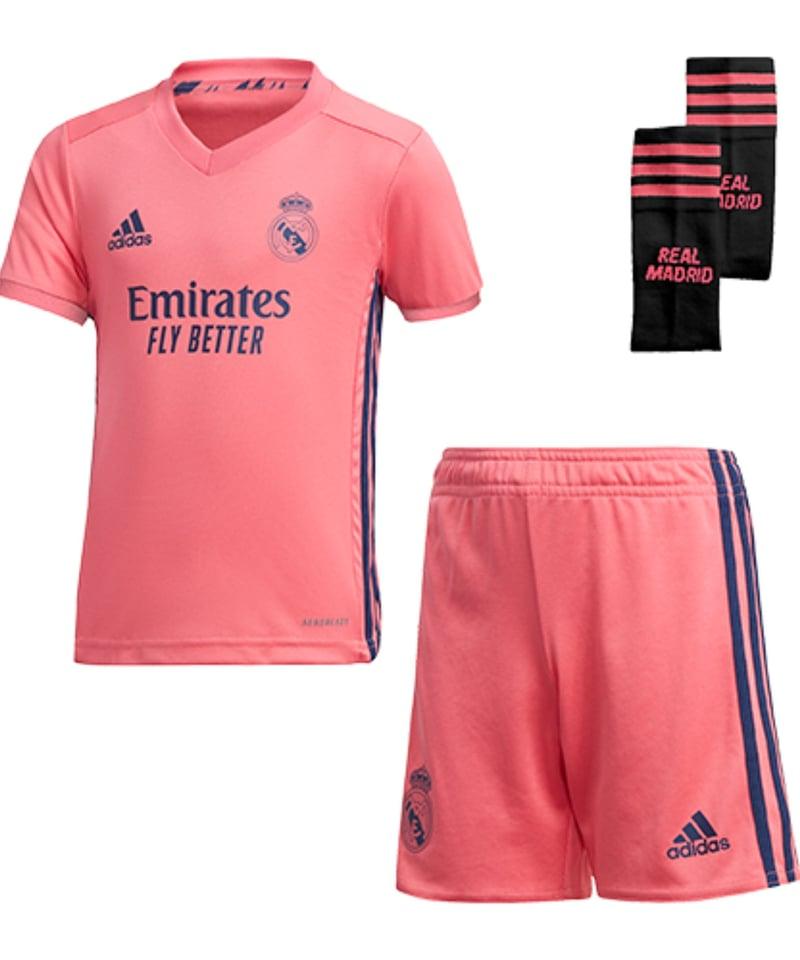 Recomendación Decir la verdad rechazo  adidas Real Madrid Minikit Away 2020/2021 Pink | Fan-Shop | Replica
