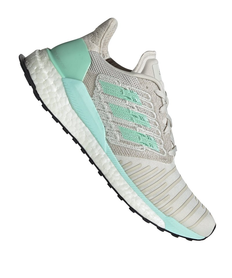 Destello pueblo yo  adidas Solar Boost Running Damen Weiss Grün | Laufschuh | Running | Training