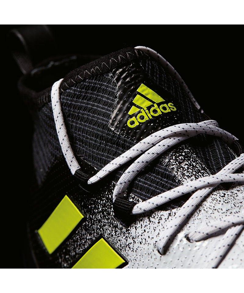 adidas ACE 17.1 Primeknit FG Weiss Gelb Schwarz