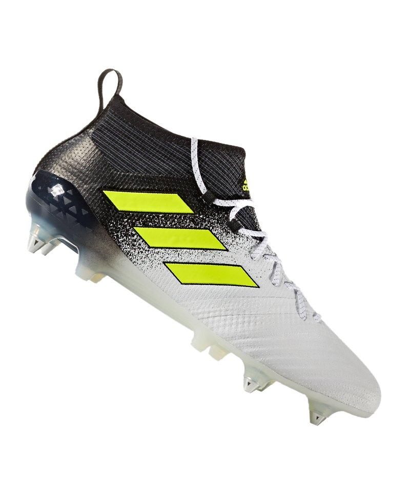 adidas ACE 17.1 Primeknit AG Weiss Gelb Schwarz | Fussball