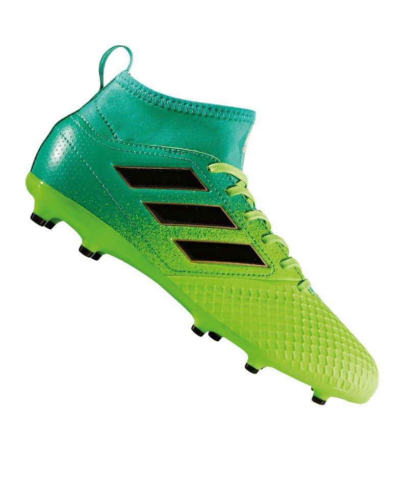 adidas ACE 17.3 FG J Kinder Fußballschuhe Nocken schwarz
