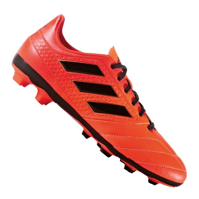 Adidas ACE 17.1 FG Solar Orange Kern Schwarz Solar Rot