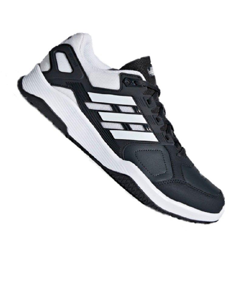 adidas Duramo 8 Trainer Sportschuh schwarzweiß Herren