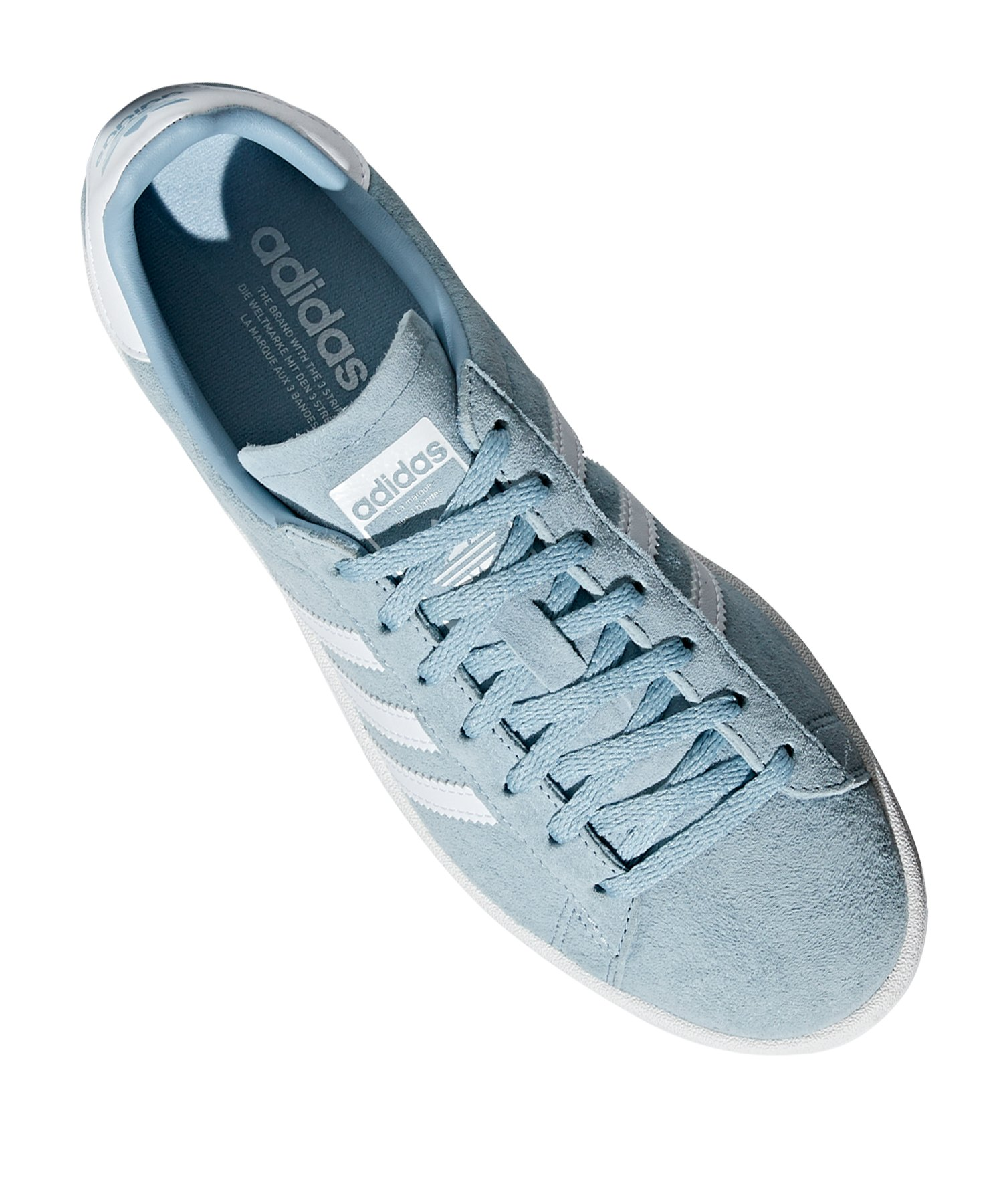 700b6c5b2b759b ... adidas Originals Campus Sneaker Damen Blau Weiss - blau ...