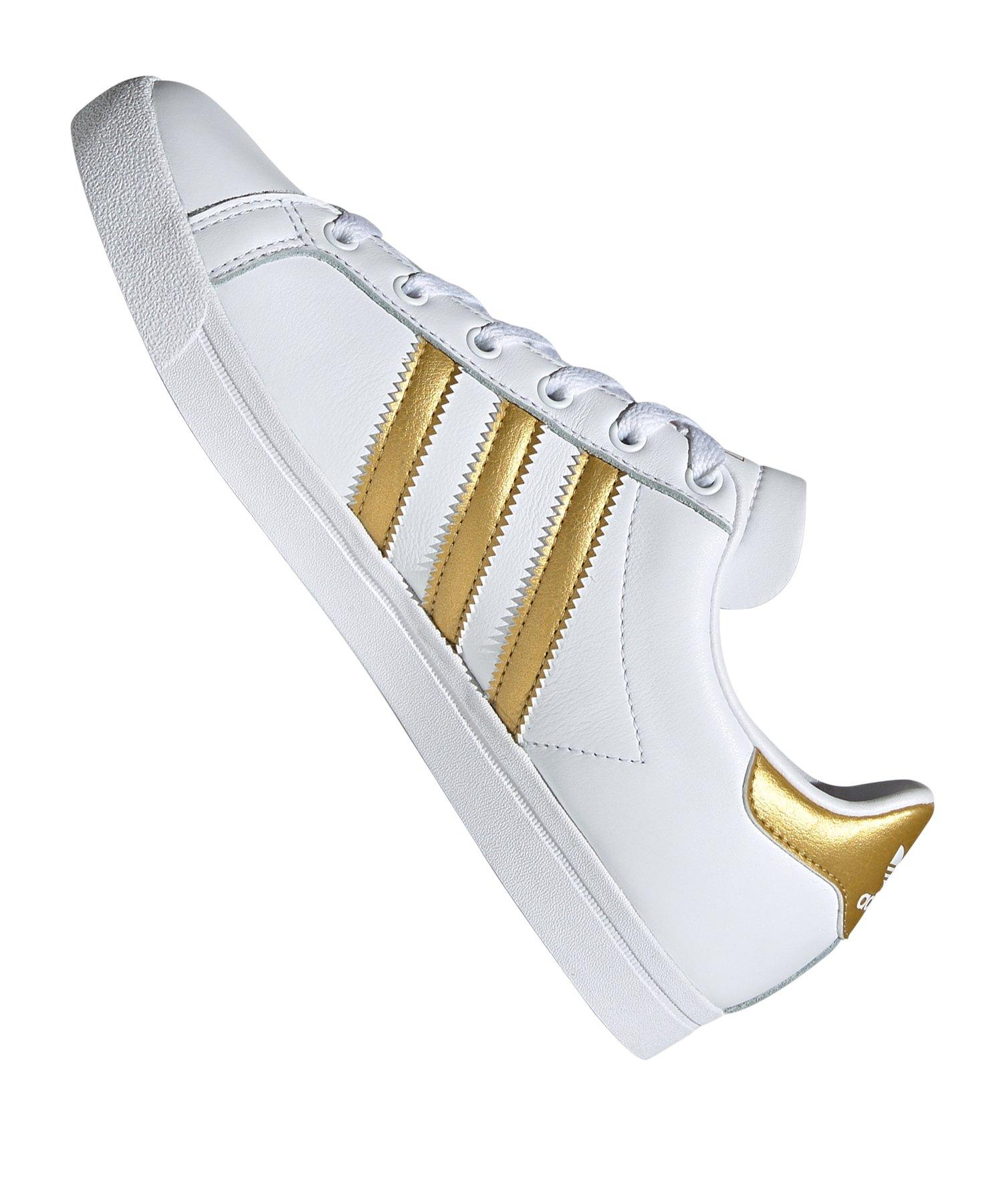 adidas Originals CS Sneaker Damen Weiss Gold