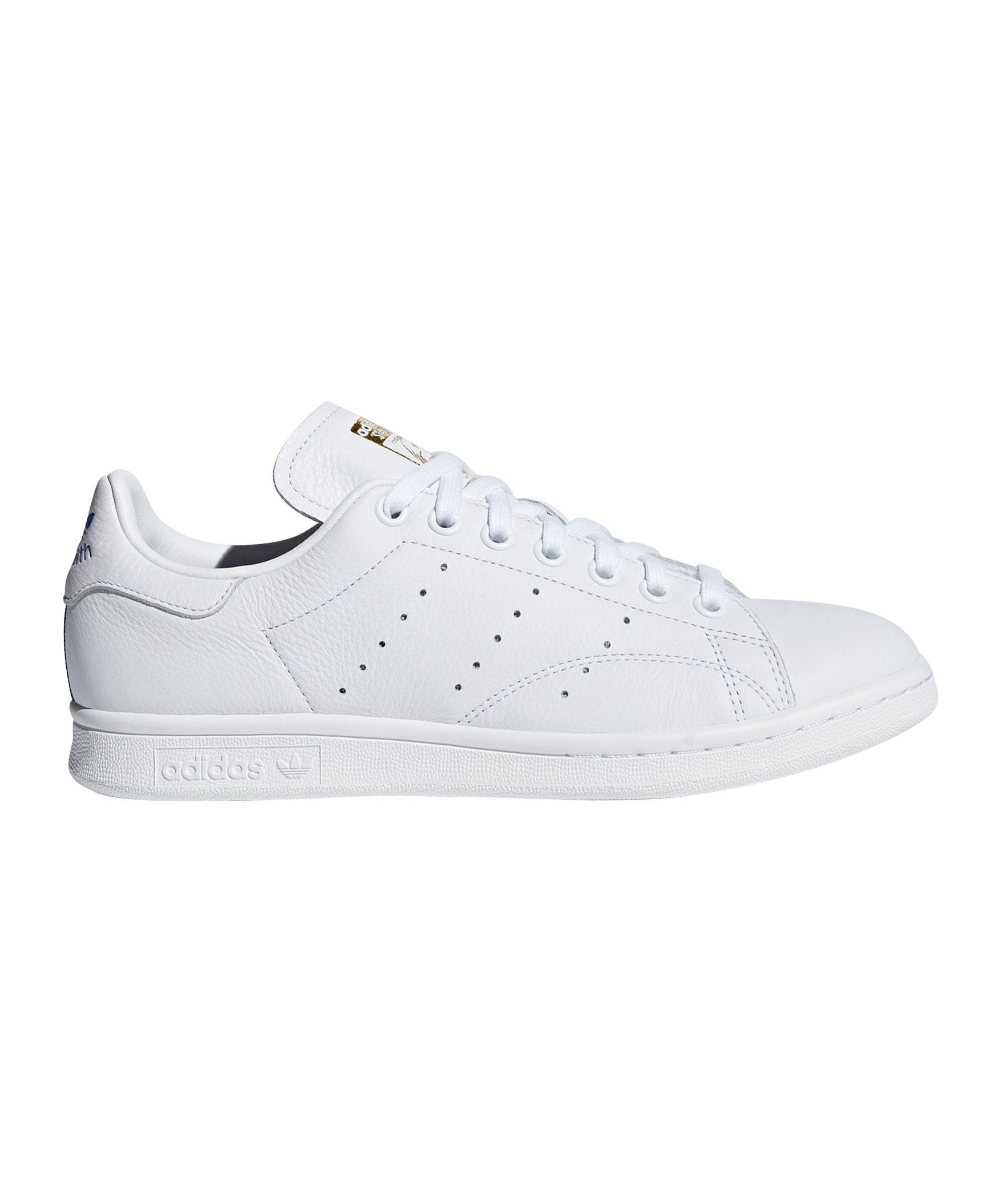 günstige neue Art adidas Stan Smith Youth Schuhe Weiß