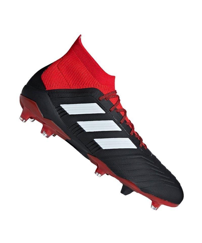 adidas herren predator 18.1 fg fußballschuhe eisenstollen schwarz weiß