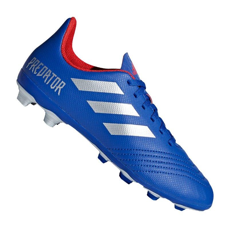 Neu Adidas Predator 19.4 Fxg Fußballschuhe Herren Blau