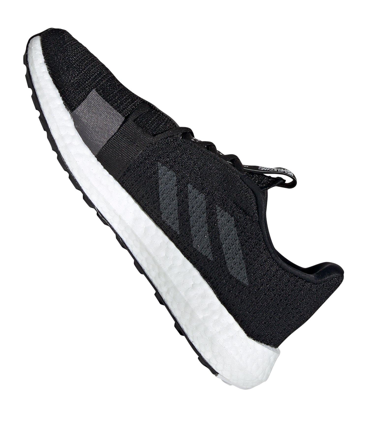 adidas Sense Boost Go Running Damen Schwarz