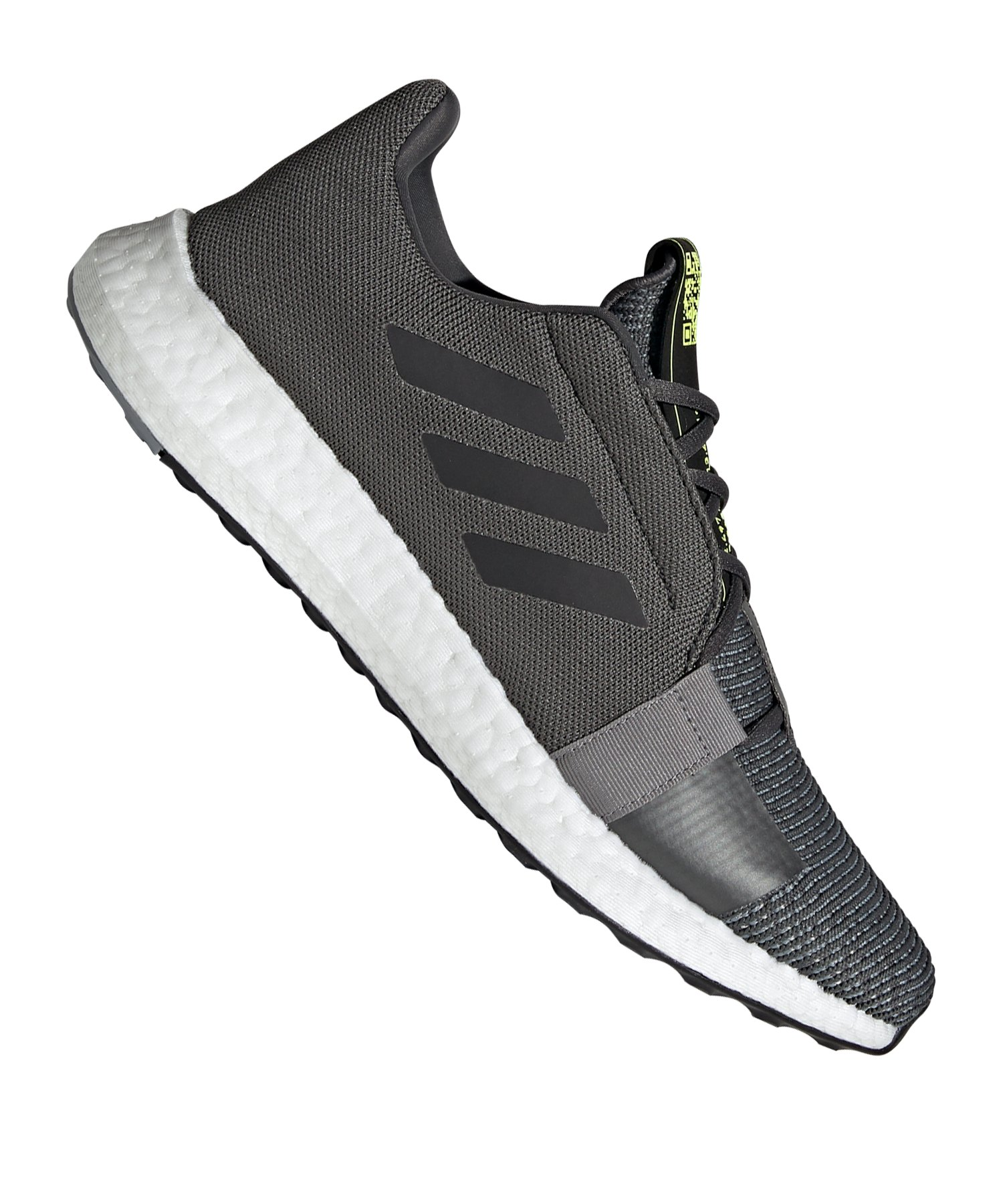 adidas Sense Boost Go Running Grau Schwarz