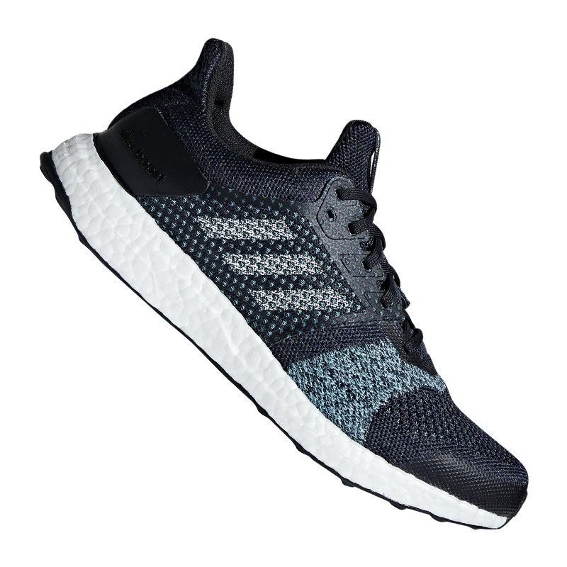 adidas Ultra Boost ST Running Blau Grau