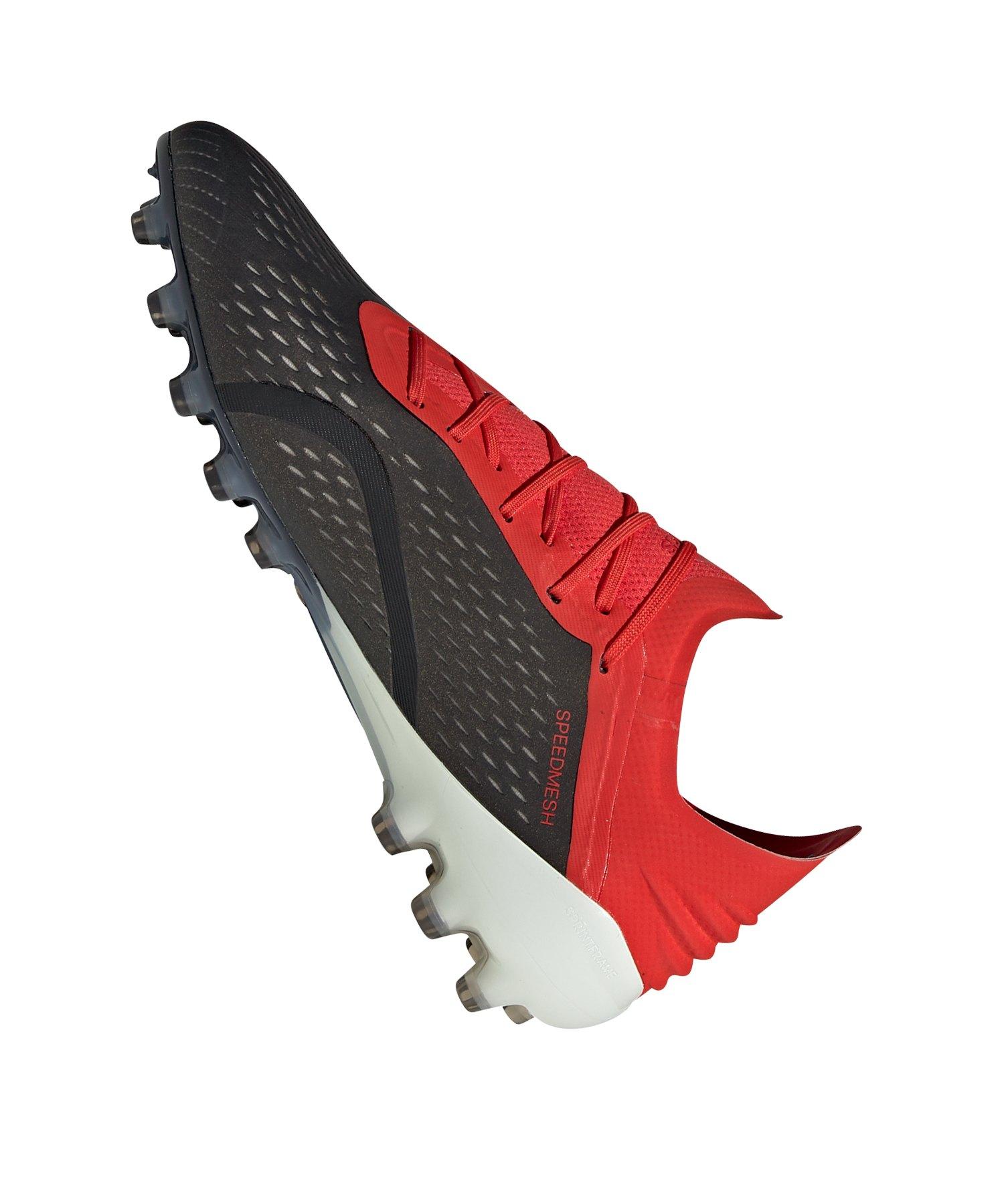 adidas X 18.1 AG Schwarz Rot