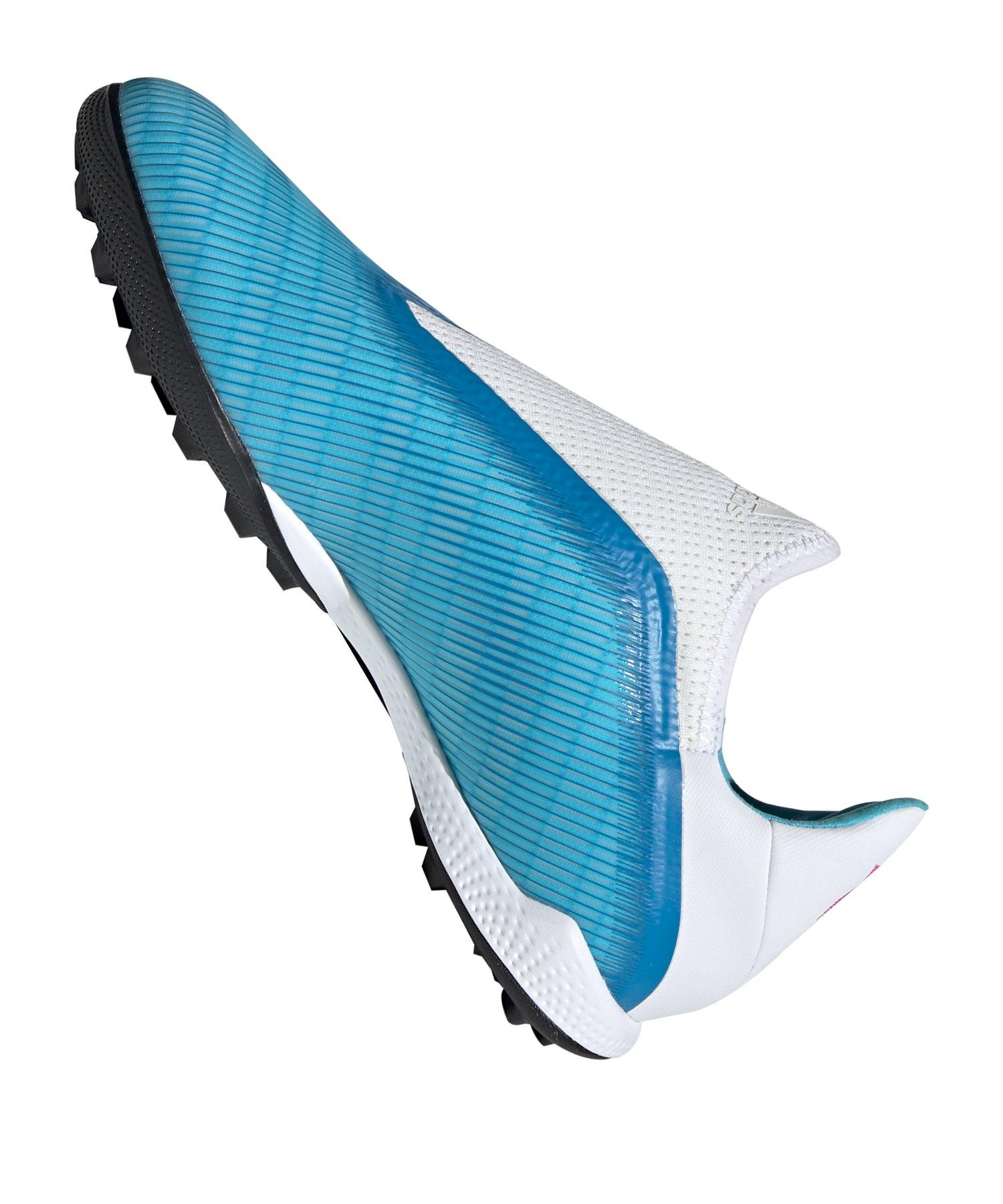 adidas X 19+ FG Blau Weiss Schwarz