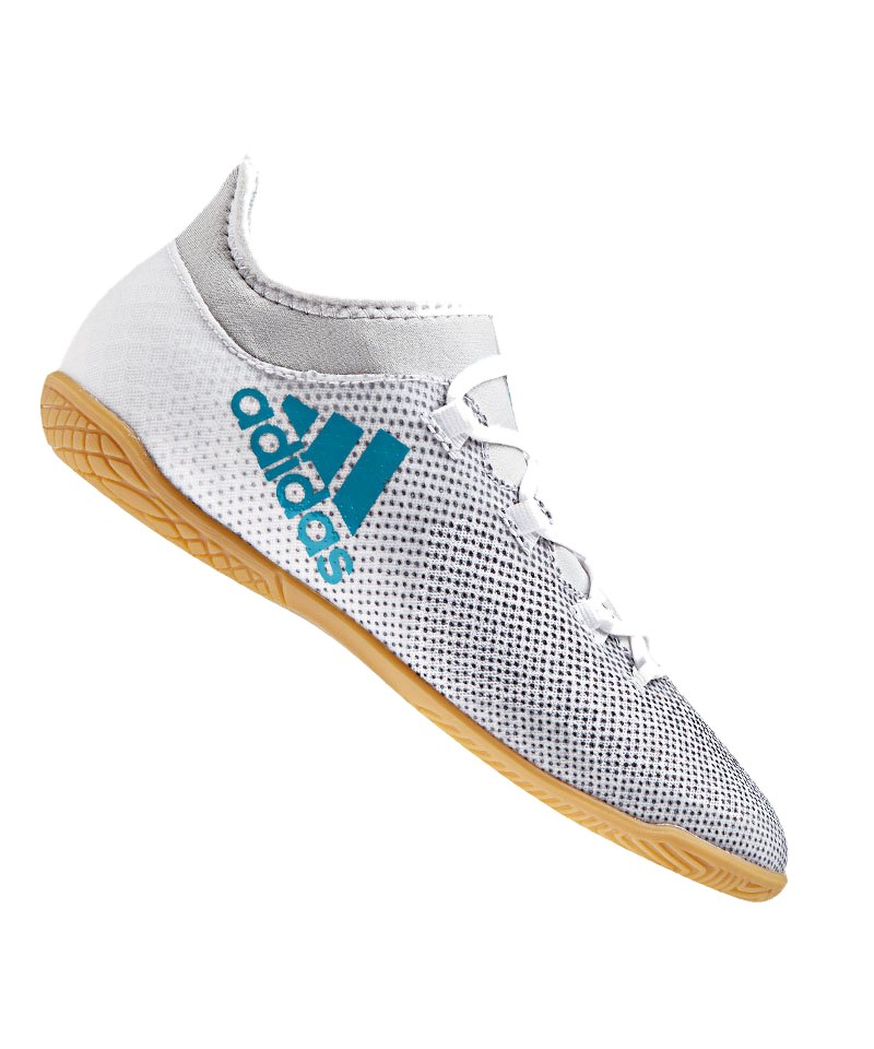 Adidas Ace Tango 17 3 In Halle Blau Weiss Fussball Schuh