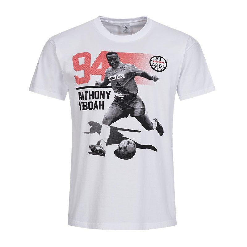 Eintracht Frankfurt Legenden Anthony T Shirt Grau Grau