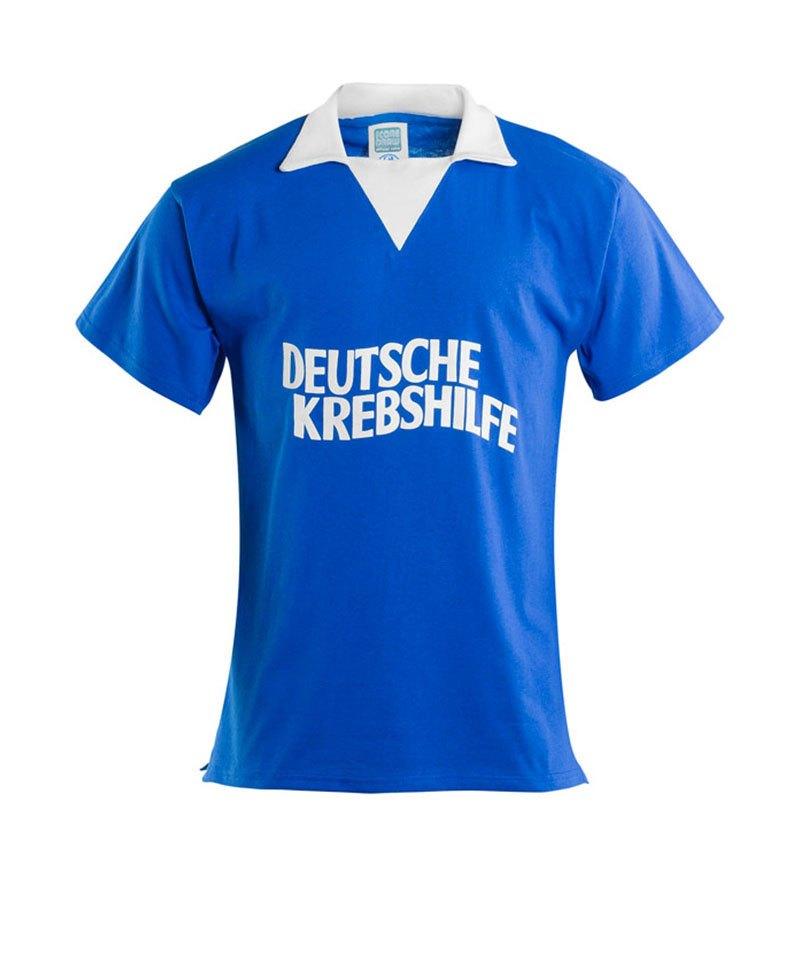buy popular f4503 203b2 FC Schalke 04 Retro Trikot Deutsche Krebshilfe