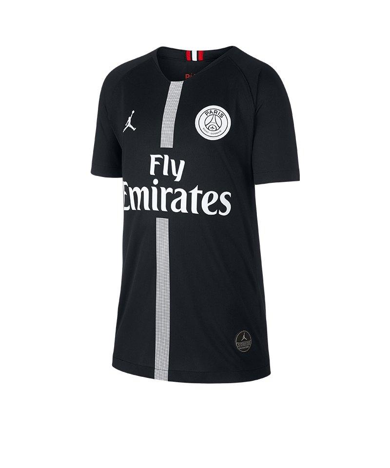 Jordan Paris St Germain Trikot Ucl Kids 2018 2019 Schwarz