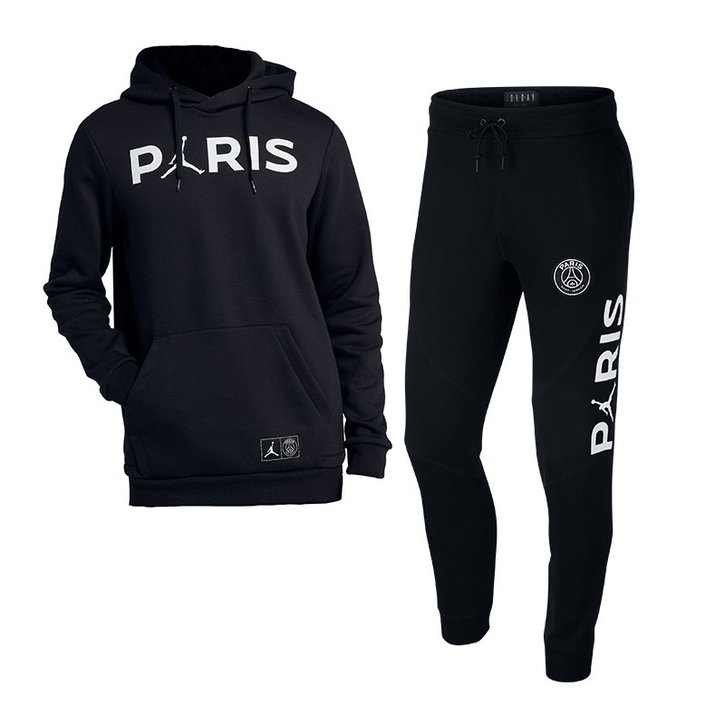 stable quality arriving big discount Jordan X PSG Wings Track Suit Schwarz F010