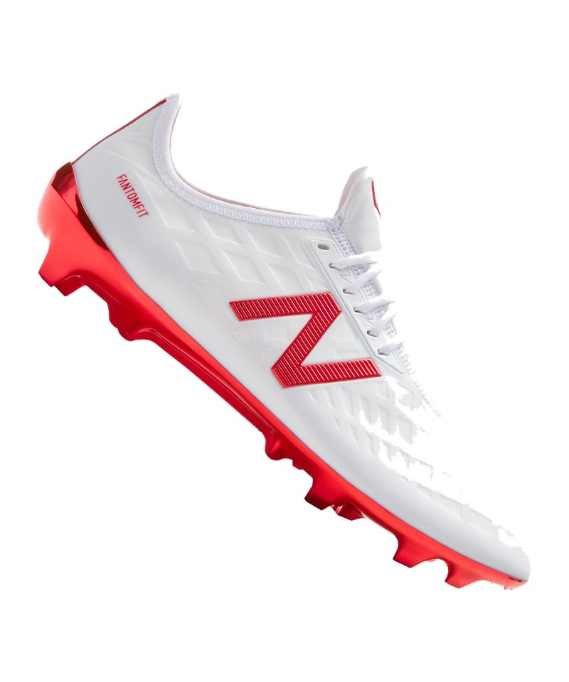 wholesale dealer 8e8f4 dc345 New Balance Furon 4.0 Pro FG Weiss Orange F17 - weiss