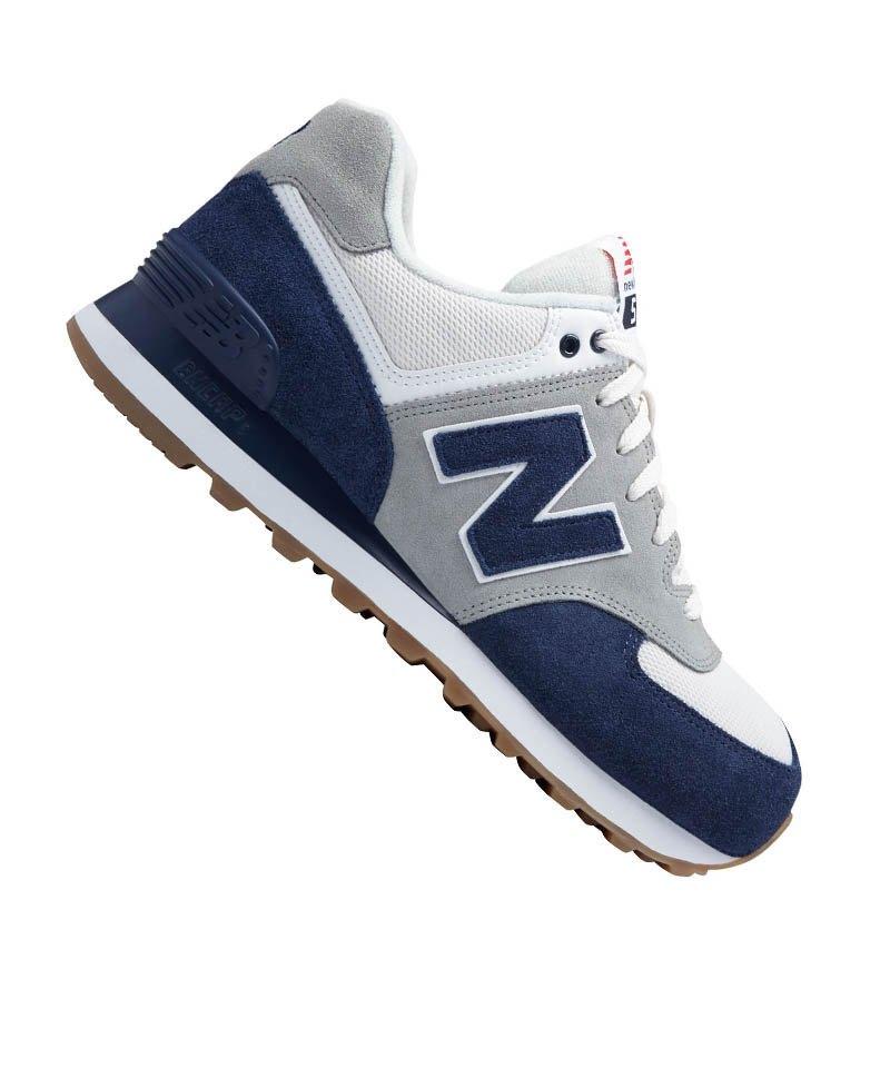 new balance ml 574 sneaker blau
