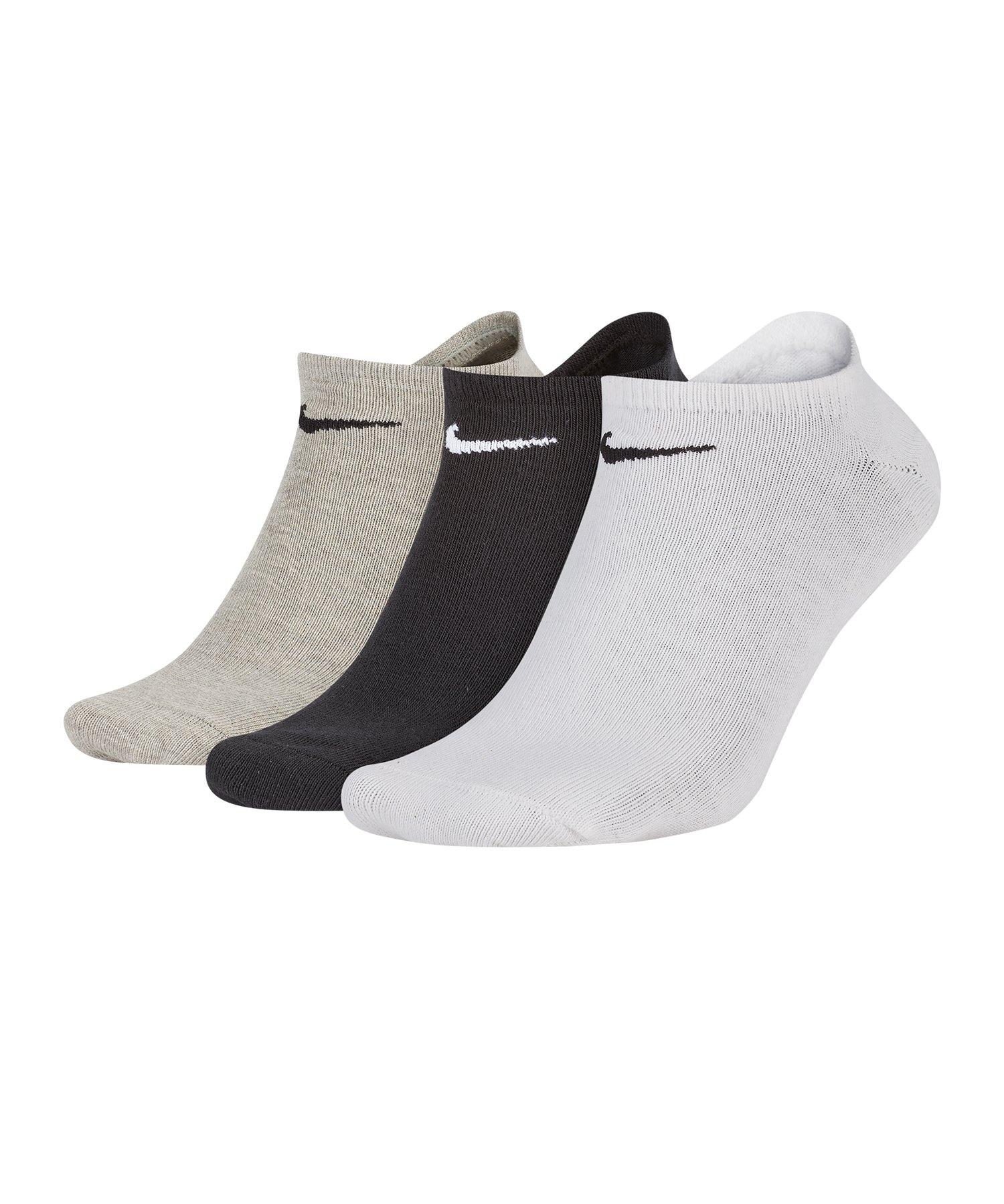Nike 3er Pack Socken Füsslinge Sneaker F901
